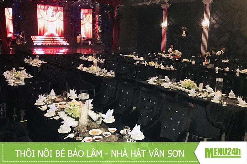 Inside catering tại trung tâm Vân Sơn Show