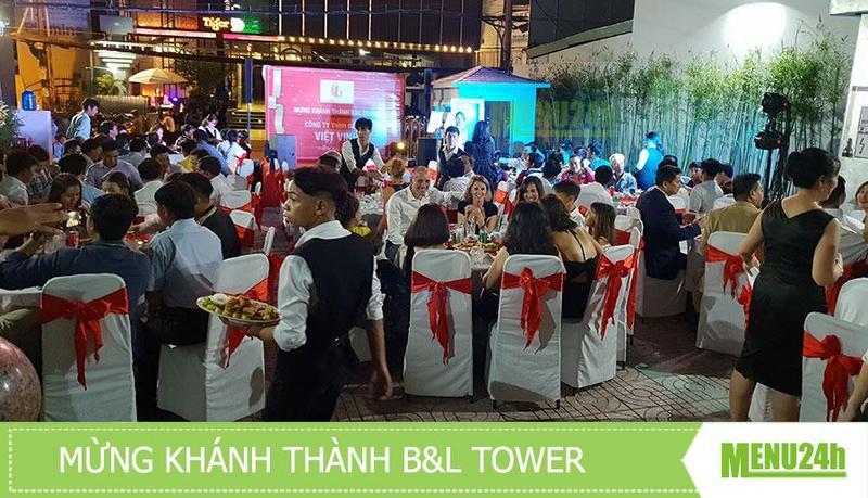 Tiệc mừng Khánh thành tòa nhà B&L - Phục vụ tiệc khánh thành