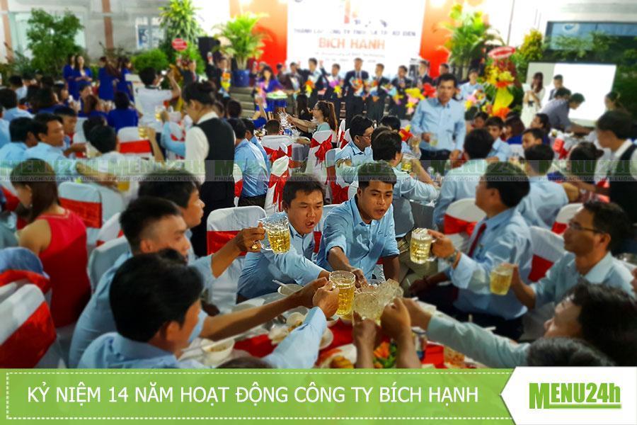 Tổ chức tiệc sinh nhật công ty Bích Hạnh - 14 năm hoạt động