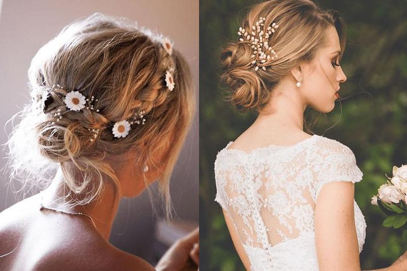 Tổng hợp những phụ kiện tóc cô dâu được yêu thích nhất hiện nay